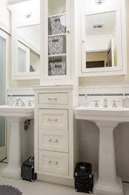 bathroom pedestal sink ideas. How To Get Two Sinks And Storage In A Small Bathroom | For The Home Pinterest Bathroom, Pedestal Sink Ideas H