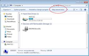 Mapping Ecn Network Drive Using Windows 7 Engineering Computer