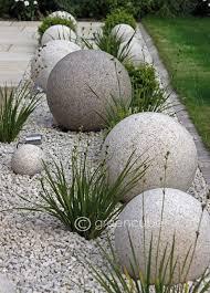 Gravel Garden Design Enchanting Sculpture In The Garden Greencube Designs A Sculptural Ball Garden