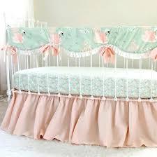 peach nursery bedding image 0 peach and mint nursery bedding