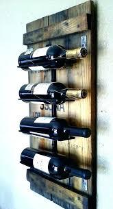 wall mount wood wine rack racks cherry d wooden furniture republic bed wood and metal wine rack