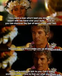Quotes From The Movie The Help You want a man who's lead you down the beach Runaway Bride 16