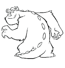 Cute Monster Coloring Pages Sea Monster Coloring Pages Free