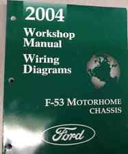 2004 ford f 53 f53 motorhome chassis service repair shop manual w wiring diagram