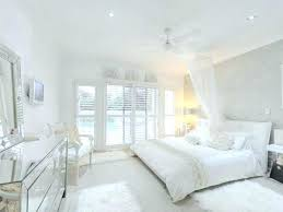 All White Modern Bedroom Awesome Design Ideas Black And Door
