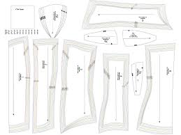 Underbust Corset Pattern Awesome Decorating