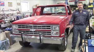 1987 Chevy 1500 Truck Restoration Update, Hood & Lights Installed ...