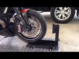 Motorcycle Display Stand Easy Stand Product Motorcycle display YouTube 36