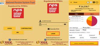 nps statement account balance how
