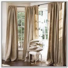 burlap curtain panels 96