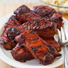 Barbecued CountryStyle Ribs Recipe  KeepRecipes Your Universal Pork Country Style Ribs Recipes