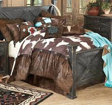 western bedding sets cow comforter set lovely for your duvet covers king with turquoise western bedding sets