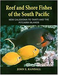 Samoan Fish Chart Reef And Shore Fishes Of The South Pacific New Caledonia To