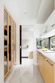 Kitchen Butlers Pantry Butlers Pantry Santorini White Bright Kitchen With Blonde