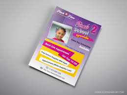 Beauty Salon Flyer Design Flash Flare