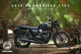 ride review triumph bonneville t100 return of the cafe racers