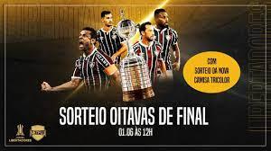 SORTEIO OITAVAS DE FINAL LIBERTADORES 2021 COM IMAGENS - YouTube