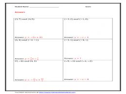 writing the equation of a line worksheet best worksheets image writing linear equations word problems