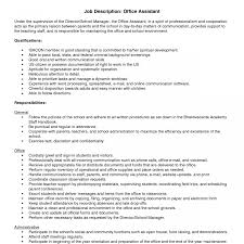 Clerk Job Description Resume Perfect Primary Objective And Essential Functions For Resume 51