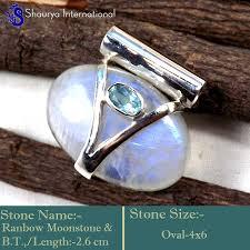 ipc955 sparkling blue fire rainbow moonstone whole handmade pendants 925 sterling silver ipc955