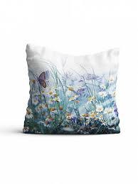 Купить <b>декоративную подушку</b> «9610551» синий/голуб ...