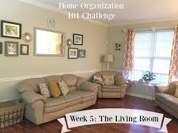 Living Room Organization Home Organization 101 Challenge Week 5 The Livingroom Youtube