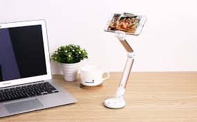 unversal silver mobile phone holder stand 360 rotating desk phone holder car holder desktop stand holder