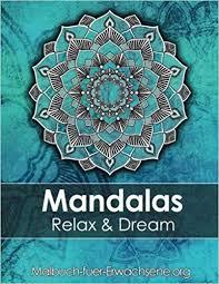 Amazoncom Mandala Colouring Book For Adults Meditation