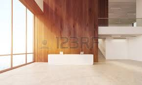 modern wooden office counter desk buy wooden. Modern Company Lobby With Wooden Walls, Large Windows, Stairs And Reception Desk. Concept Office Counter Desk Buy O