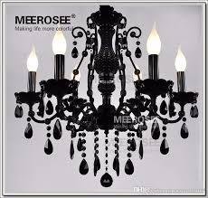 french style crystal chandelier lighting fixture vintage black wrought iron chandelier suspension hanging lamp light antler chandeliers bathroom chandelier