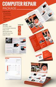 computer repair flyer template 21 psd ai format computer repair package template