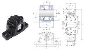 Snl524 620 Skf Split Plummer Block Housing For 110mm Shaft