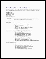 Elegant Free Resume Templates For No Work Experience Best Of Template
