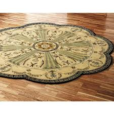 amazing 8 foot round rugs 6 attractive rug jute material natural color casual style traditional area