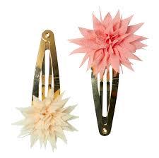 """<b>Заколки</b> """"<b>Dahlia</b> Flower"""", 2 шт., бежевая и коралловая купить в ..."""