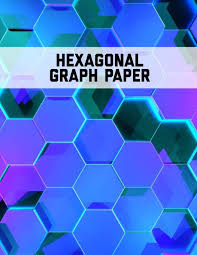 Graph Paper Small Hexagonal Graph Paper Small Hexagons Perfect For Organic