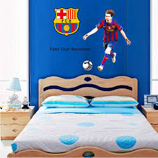 Image of: Soccer room decor and Wall Decor