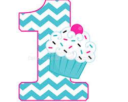 Chevron Cupcake 1st Birthday Personalized T Shirt Or Bodysuit