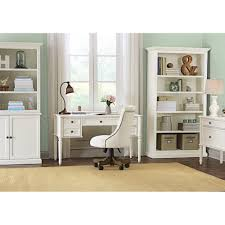 white home office furniture. ingrid rubbed ivory open bookcase white home office furniture