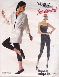 Jumpsuit Pattern Vogue Awesome Vogue Individualist 48 ISSEY MIYAKE Womens Shirt Jacket Jumpsuit