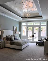 How To Decorate A Tray Ceiling Link to interior paint colors used listed by room and house tour 21
