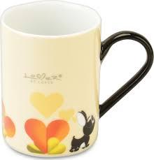 <b>Набор 2шт кружек</b> BergHOFF <b>0</b>,<b>3л</b> (желтые) Lover by Lover 3800012