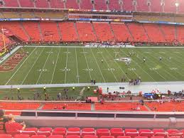 Chiefs Seating Chart With Rows Arrowhead Stadium Section 303 Rateyourseats Com