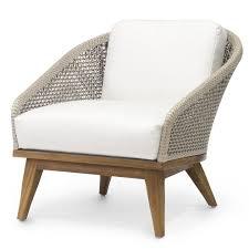 palecek santorini outdoor lounge chair