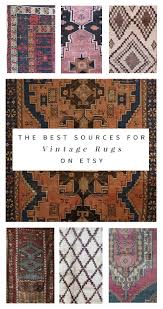 the best sources for affordable vintage rugs on