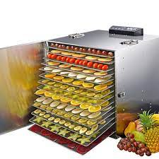 Dalle LT-91 Dijital, Paslanmaz Gıda ve Meyve Kurutma Makinesi 16 Tepsili -  www.irhaltarim.com.tr