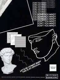 Aesthetic Wallpaper Tumblr Black White ...