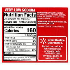 Coca Cola Nutrition Chart Nutrition News Coca Cola Nutrition Facts 12 Oz