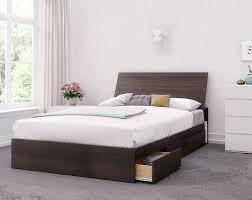 Iris Full Size 3-Piece Bedroom Set, Ebony and White