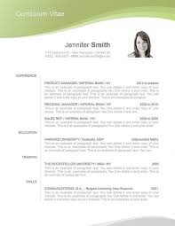 Resume Template 106050 Templates By Resumeway
